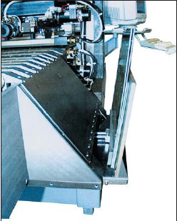 Модуль системы автоматической разгрузки установки электрического контроля с «летающими матрицами» New System S24-25A-L-C