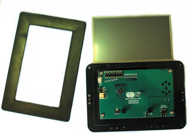 Компоненты модуля VM800B43A-BK