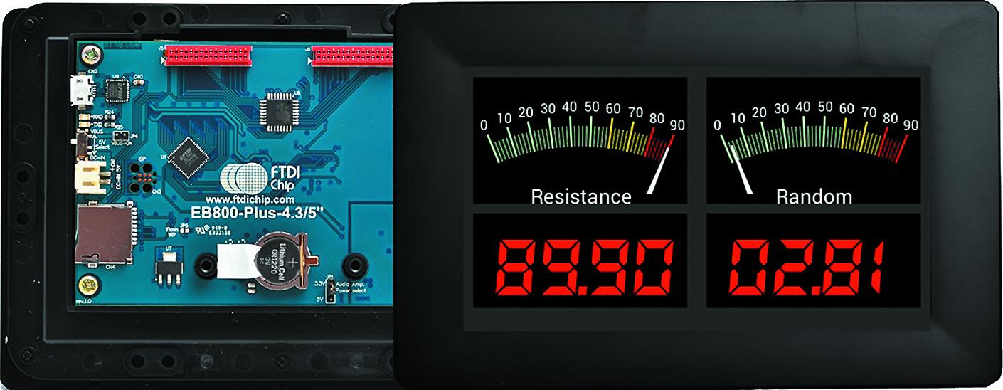 Графический модуль VM800P