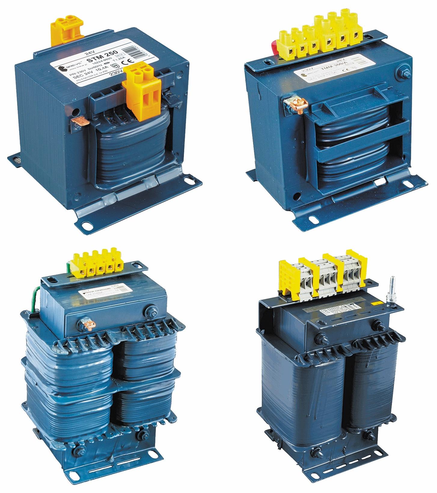 Однофазные трансформаторы производства BREVE TUFVASSONS