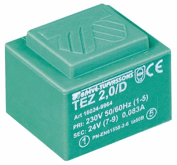 Трансформатор на печатную плату серии TEZ