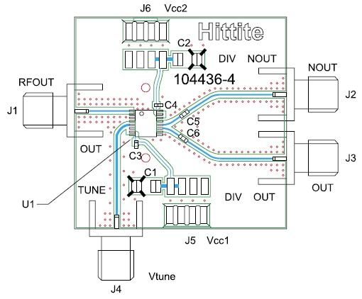 Монтаж микросхемы HMC398QS16G/398QS16GE на печатной плате