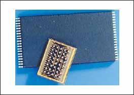 Присоединение гибкой печатной платы непосредственно к микросхеме на кристалле