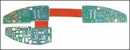 Гибко-жесткая многослойная печатная плата, монтируемая на трех стенках миниатюрного электронного устройства