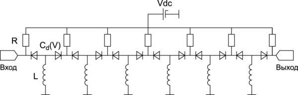 Шестизвенный модуль ФВ, построенного по Т схеме