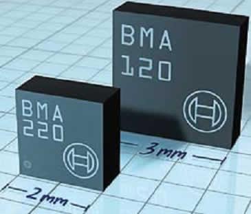 Малый цифровой g-датчик BMA220 Bosch Sensortec площадью 2x2 мм в корпусе LGA