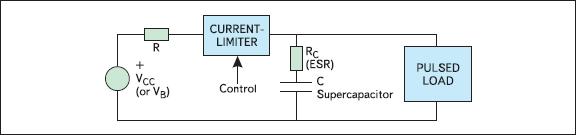 Схема включения суперконденсатора
