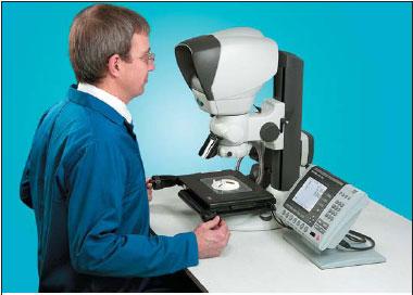 Измерения с микроскопом Kestrel