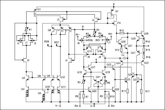 Схема электрическая AD549