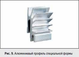 Алюминиевый профиль специальной формы