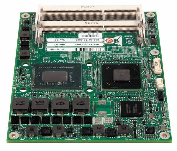 Процессорный модуль CEQM77 с процессором Intel Ivy Bridge