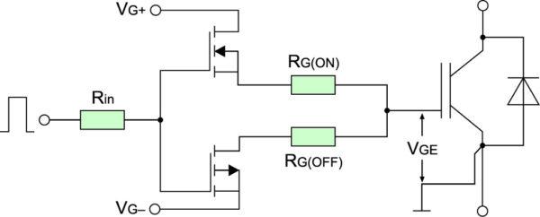 Цепь управления IGBT-транзистором
