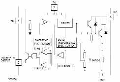 Функциональная схема драйвера VB027