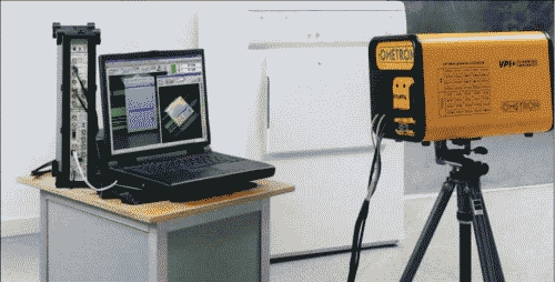 Рис. 3. Лазерный виброметр OMETRON подключается к Pulse 3560