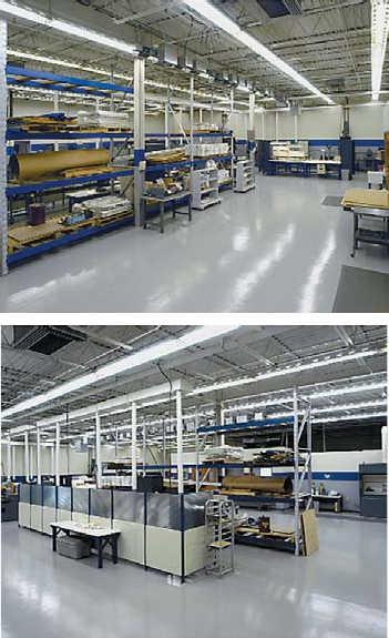 Рис. 3. Участок керамики компании Corry Micronics Inc.