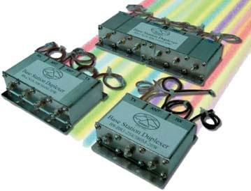 Внешний вид диплексеров для базовых станций NMT