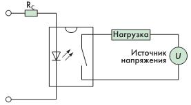 Pис. 3 упрощенная схема включения PVR.