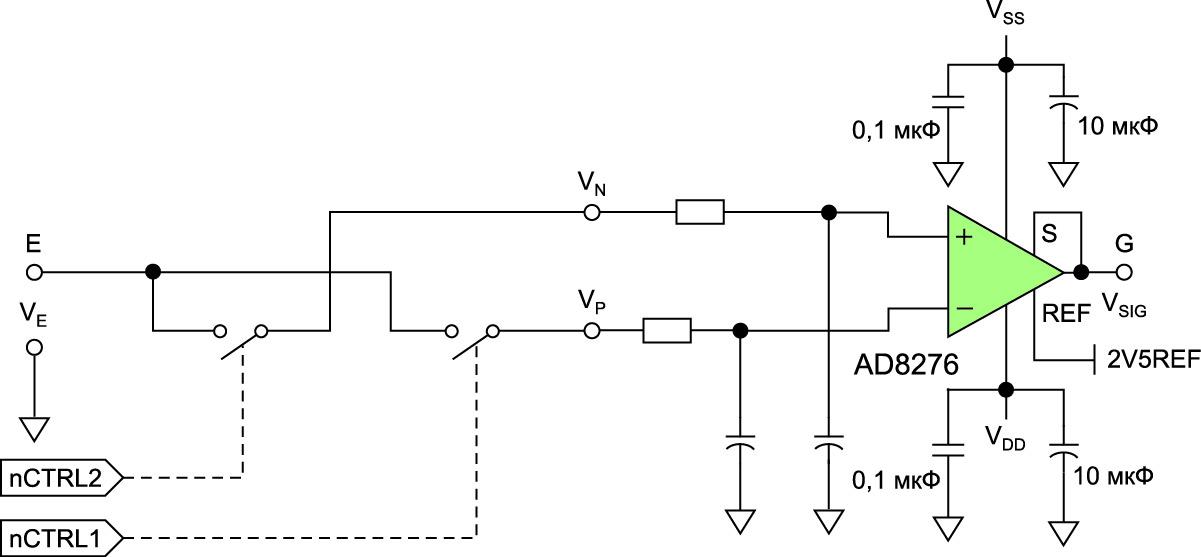 Схема синхронного демодулятора