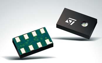 Новый датчик давления LPS001WP от STM — компонент для осуществления 3D-навигации