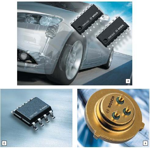 Обновления автомобильных МЭМС-датчиков от Bosch
