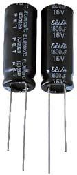 Внешний вид конденсаторов  с проволочными выводами