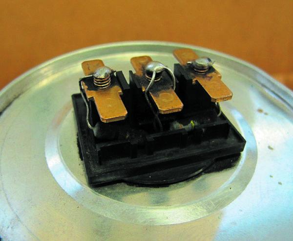 Неправильное размещение разрядных резисторов