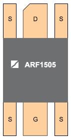 Сверхвысоковольт-ный мощный VDMOS ARF1505