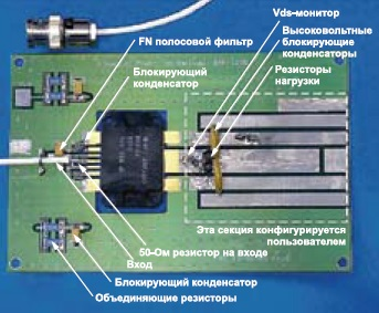 Печатная плата ключа натранзисторе DRF1200
