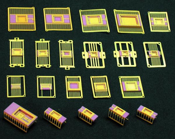Типовые керамические корпуса ИС с небольшим количеством выводов (предприятие «ДЗРД»)