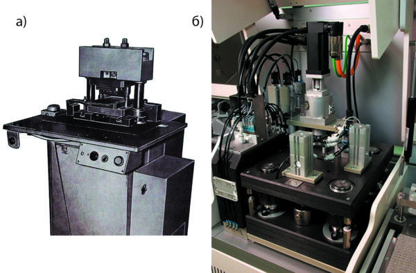 Оборудование для работы со штампом