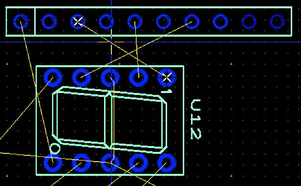 Выбор линии связи при помощи инструмента «От точки до точки»