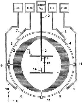 Рис. 33. Линейный двухосевой акселерометр Delphi