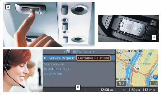Телематическая система BMW Assist