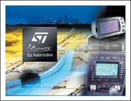 SoC-предложение STMicroelectronics для автомобильной телематики — процессор автомобильного уровня исполнений Nomadik STn8810