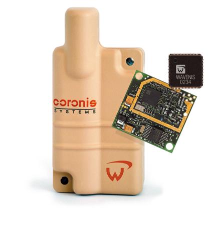 Пример готового устройства беспроводной связи по технологии Wavenis