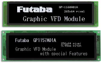 Графические VFD-модули Futaba