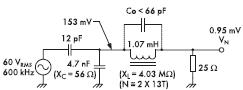 Рис. 15. Использование шунтирующего конденсатора и индуктивности обеспечивает решение с практическими значениями для обоих элементов