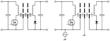 Рис. 19. Альтернативные конфигурации подключения экрана
