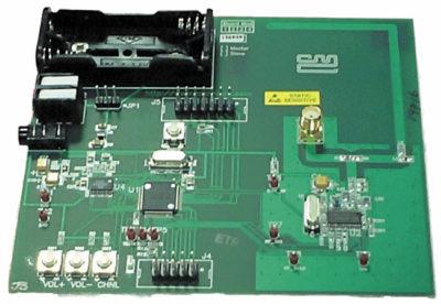 Демонстрационный набор DE6491 Wireless Voice-link Demonstration Kit