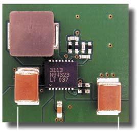Типовое применение площадью всего 154 мм2
