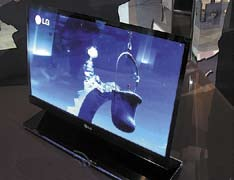 Прототип 15-дюймового AMOLED-дисплея LG