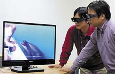 3D AMOLED телевизор Samsung