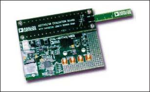 Внешний вид оценочного набора EVAL-AD7745/46EB с датчиком перемещения