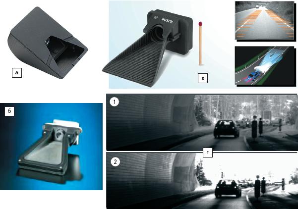 Рис. 7. Видеодатчики — камеры для применения в системах ACC, LDW и других функций