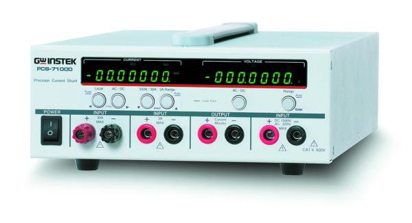 Внешний вид токового шунта PCS 71000