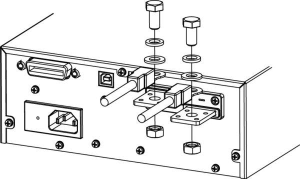 Схема подключения высокоамперного измерительного кабеля