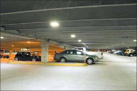 Подземный паркинг в г. Роли (Северная Каролина, США)