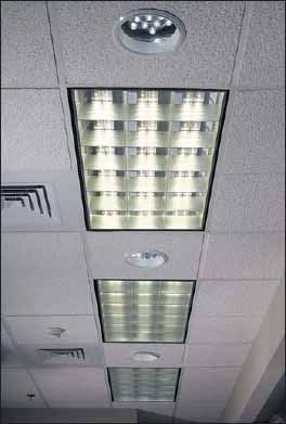 Офисные светильники на светодиодах