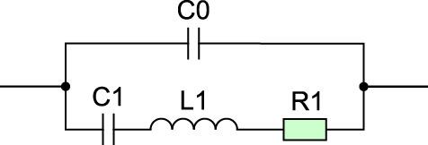 Эквивалентная схема кварцевого резонатора