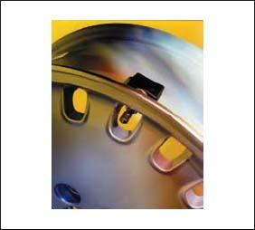 Принцип крепления датчика на колес